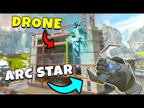*NEW* ARC STAR DRONE TRICK IS AMAZING!?! - NEW Apex Legends Funny & Epic Moments #214