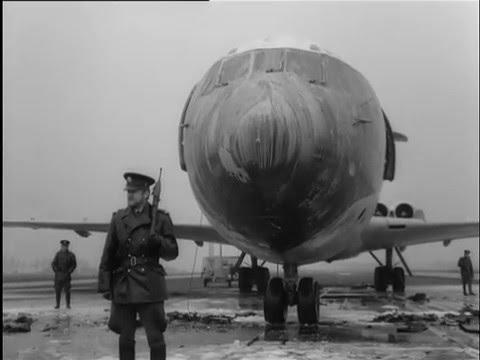 BOAC VC-10 hijack at Schiphol Airport