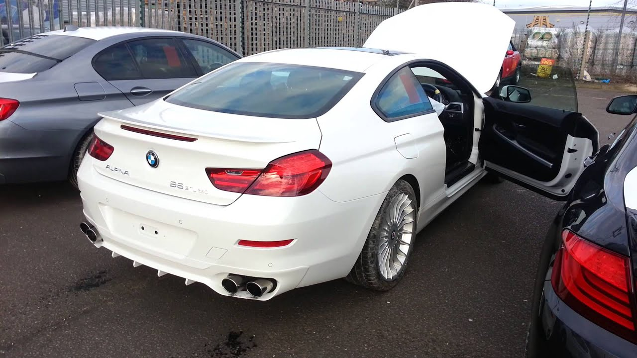 BMW ALPINA B BiTurbo Exhaust Sound While Revving YouTube - Bmw alpina b6 biturbo price