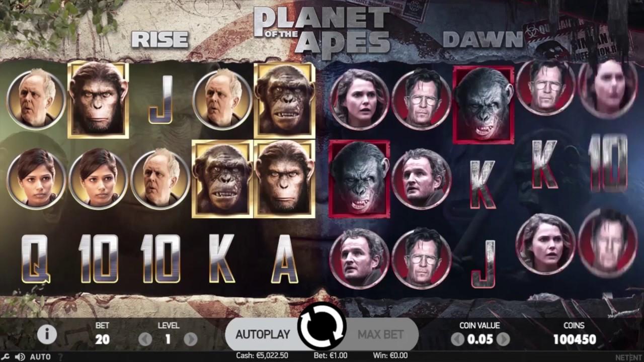 """Attēlu rezultāti vaicājumam """"The planet of the apes slot"""""""