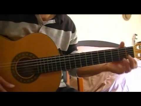 Johnny Halliday Marie (guitar déb 32)