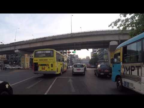 Birmanie Rangoun Centre ville, Gopro / Myanmar Yangon City center, Gopro