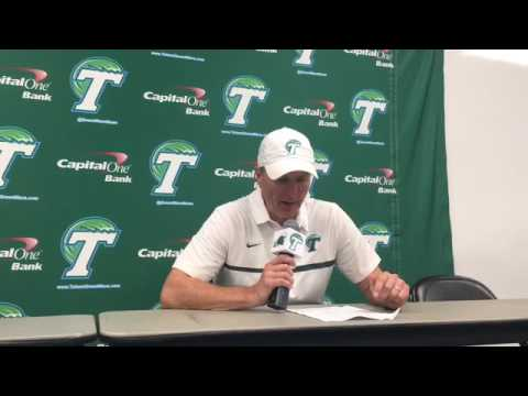 Tulane coach Willie Fritz: 'Obviously, we didn't play really well tonight offensively'