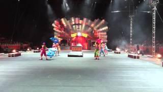 Ringling Bros Circus Xtreme clown preshow