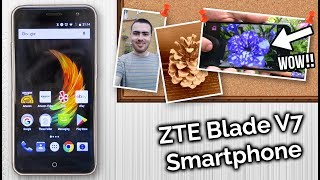 ZTE Blade V7 Smartphone Review & Camera Test