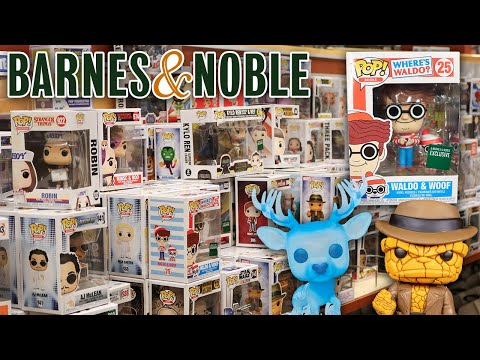 Barnes & Noble Funko Pop Hunting | 1000+ Pops!