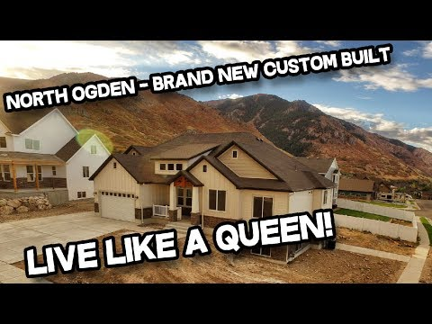 Brand New Custom Built 4 Bed 3 Bath North Ogden Utah Home for Sale (Real Estate)