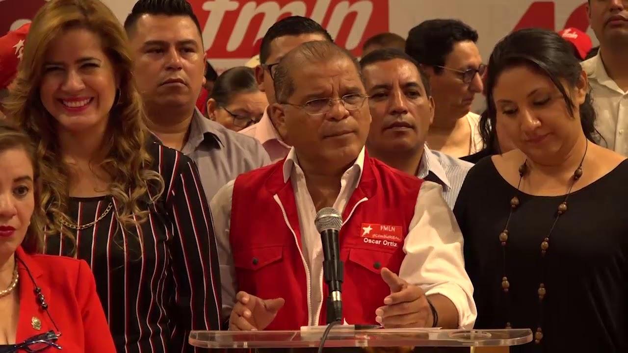 FMLN comparte a cuerpo diplomático su postura por los hechos del domingo 9 de febrero