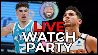 Charlotte Hornets @ Phoenix Suns Live Watch Party Stream