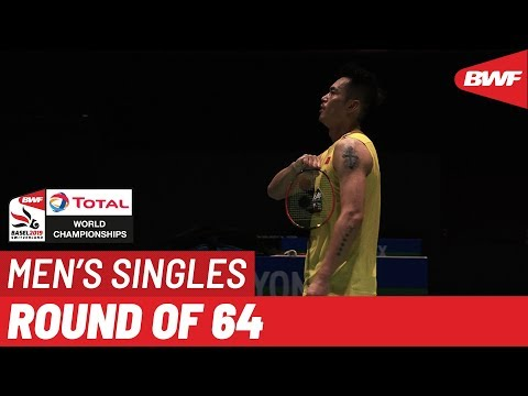 R64   MS   LIN Dan (CHN) [11] vs. NGUYEN Tien Minh (VIE)   BWF 2019