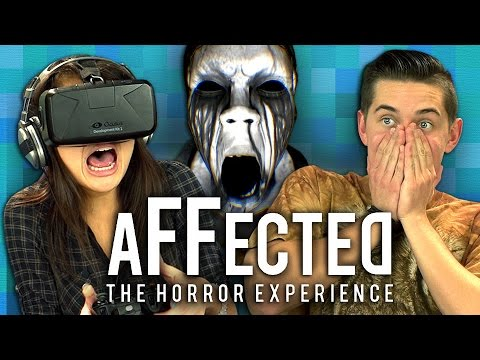 OCULUS RIFT - AFFECTED #1: THE MANOR (Teens React: Gaming)