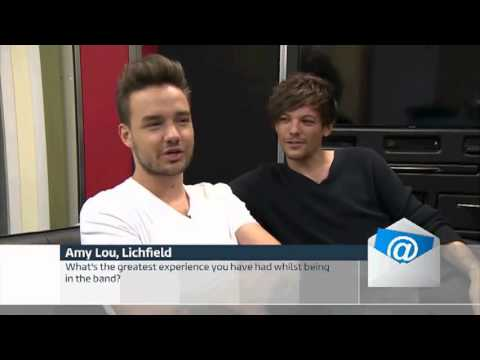 Liam and Louis interview for ITV news twitter questions 12/10/15