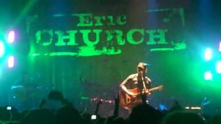 "Eric Church encore ""Drink A Little Drink, Smoke A Little Smoke"""