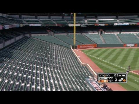 Baltimore: Empty Stadium For Orioles Game