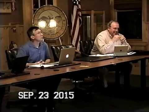 Tewksbury, MA: Finance Committee Public Meeting: September, 23, 2015: Part 3 of 4