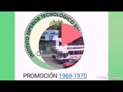 PROMOCIÓN 1969 - 1970 COLEGIO TÉCNICO SIMÓN BOLIVAR