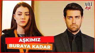 Ayşe ve Kerem BOŞANDI - Afili Aşk 30. Bölüm (FİNAL SAHNESİ)