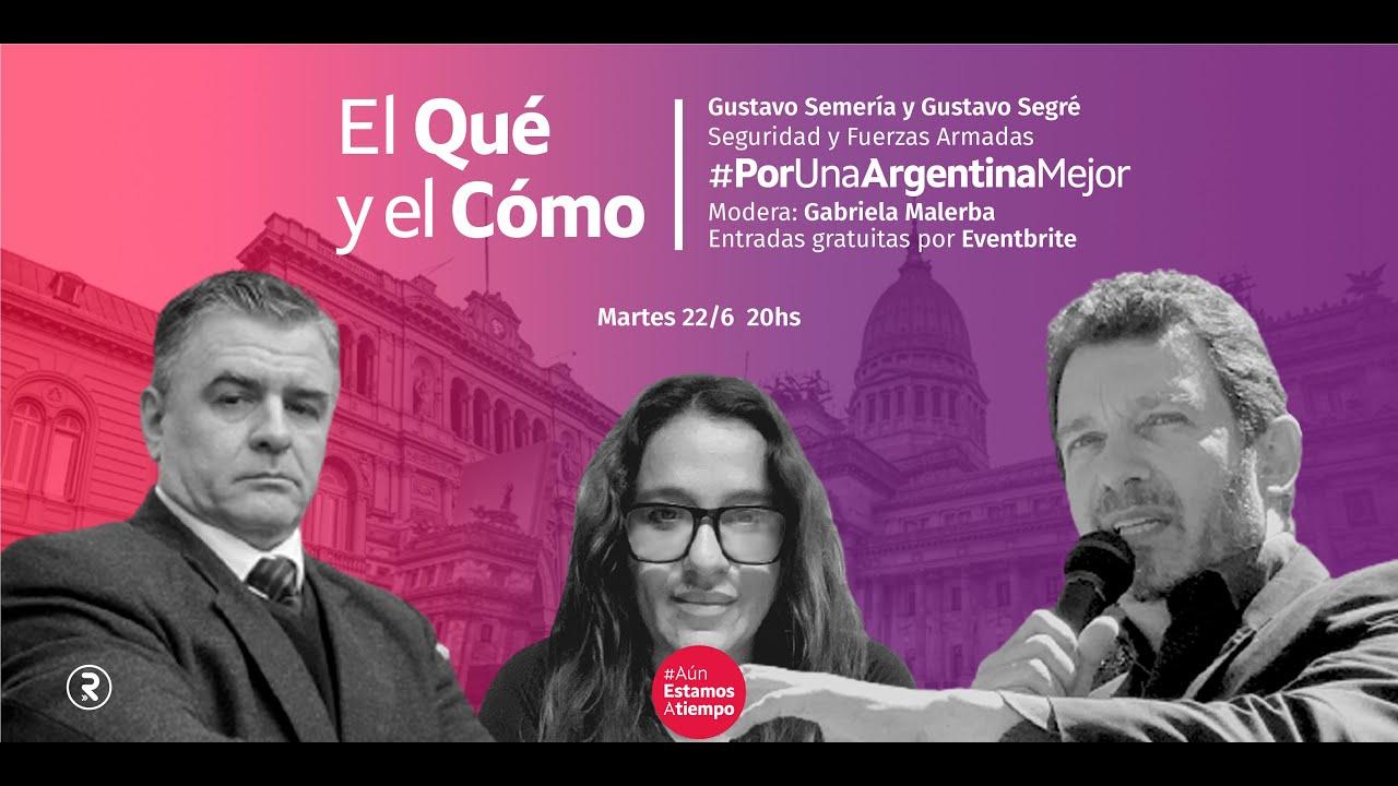 EL QUÉ Y EL CÓMO: GUSTAVO SEMERÍA, GABRIELA MALERBA Y GUSTAVO SEGRÉ (Promoción)