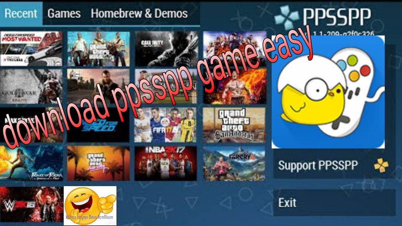 FREE DOWNLOAD How to download game for psp(happy chick)-របៀបdownload game for psp-psp game