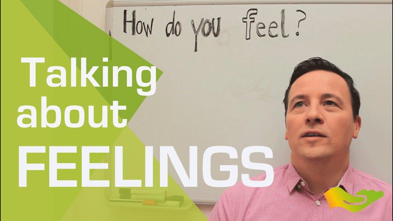 talking about feelings
