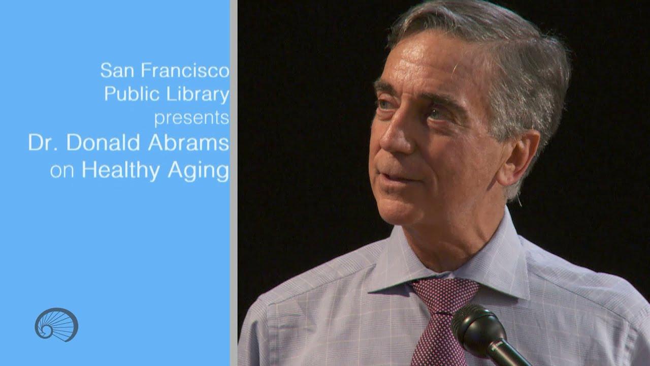Dr  Donald Abrams at the San Francisco Public Library