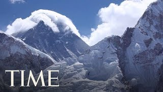 Utah Man Is Among The Latest To Die Amid Traffic Jam Of Hikers At Mount Everest | TIME thumbnail