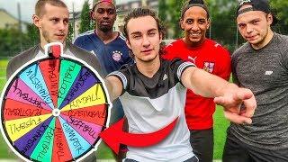 FUßBALL GLÜCKSRAD CHALLENGE !