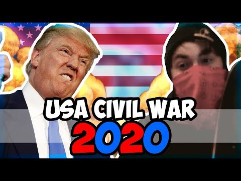 What If The US Goes To Civil War In 2020? [HOI4] [Hearts of Iron 4] |