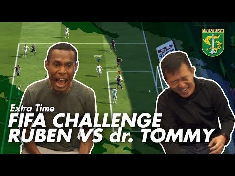 Extra Time | Ekspresi Sangar Ruben Saat Main PS | FIFA Challenge
