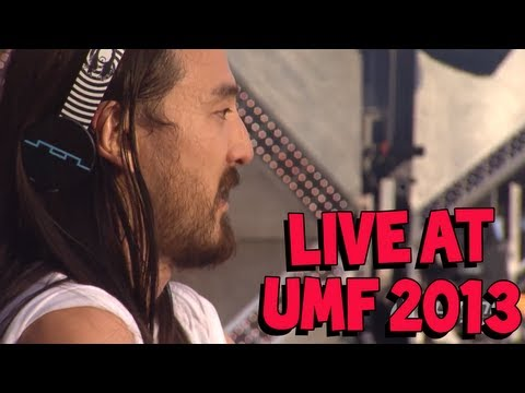 Steve Aoki LIVE at Ultra Music Festival 2013 Weekend 1: Main Stage