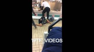 Burger King Employees Fight and Taser Man with Broken Leg