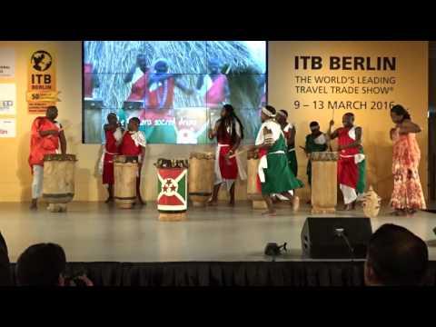 ITB Berlin 2016 – Live Shows 2016 – Palais am Funkturm – Burundi–THE SACRED DRUMS OF BURUNDI–Part 2