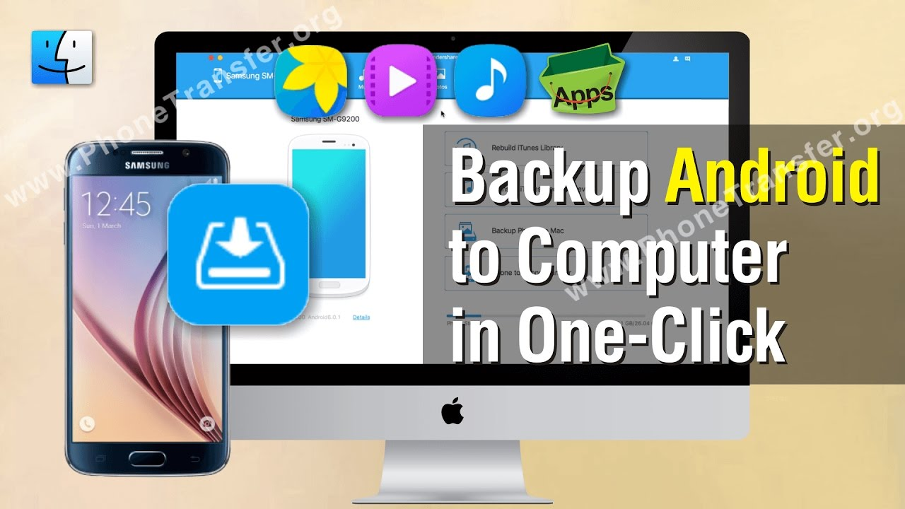 Android Data Backup | How to Backup Android Phone to Mac in One-Click
