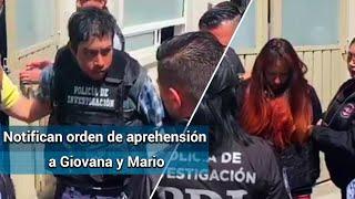 Leen derechos a Giovana y Mario Alberto, presuntos feminicidas de Fátima
