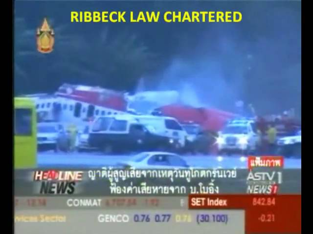 Ribbeck Law Chartered in Thiland HeadLine News