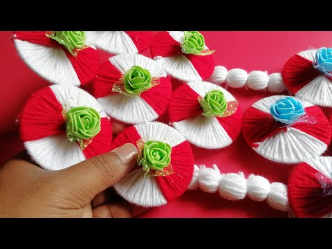 How to make DIY Easy Woolen wall hanging with old Bangles || Room Decoration Craft Idea