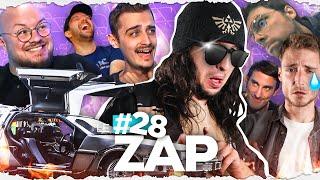 ARRIVER EN DELOREAN A WEBEDIA 😎 - LE ZAP #28