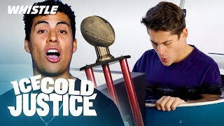 WORST Fantasy Football Punishment | Ice Cold Justice
