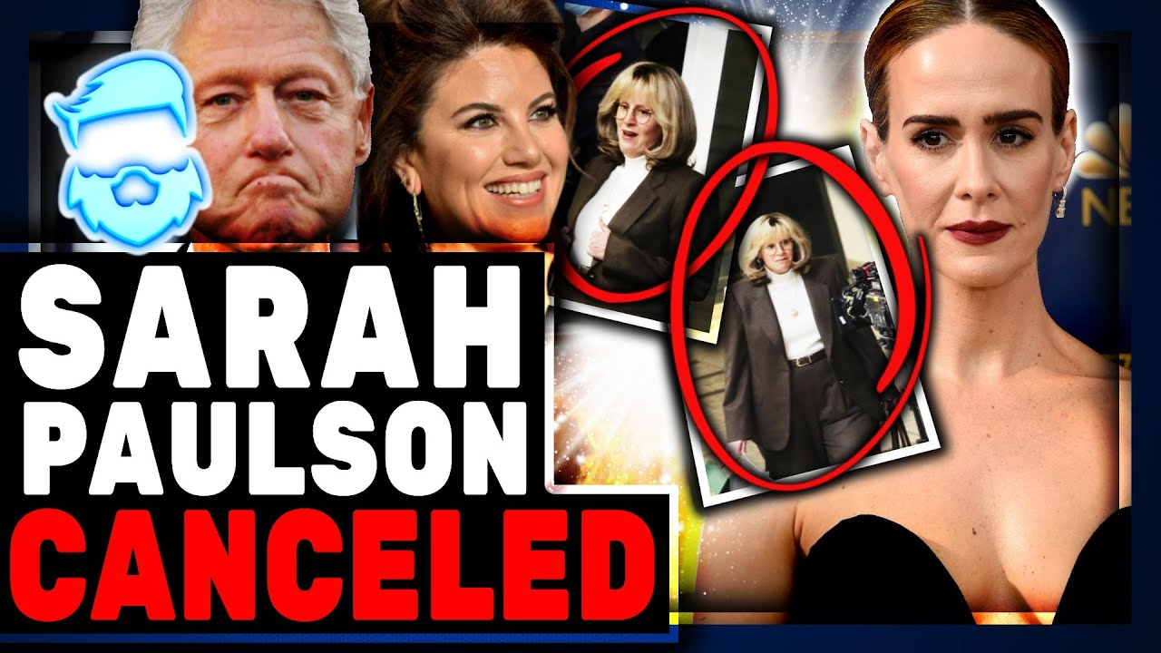 Instant Regret! Fatsuits Cancelled But Leftists Accidently Fat Shame Sarah Paulson!