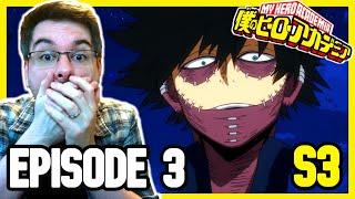 VILLAINS ATTACK!!   My Hero Academia Season 3 Episode 3 REACTION   Anime Reaction
