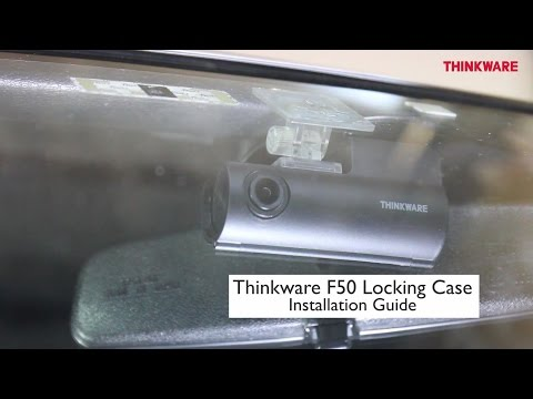 Thinkware F50 Anti-Tampering Case Installation Video