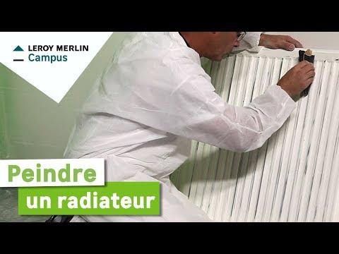 Comment Peindre Un Radiateur Leroy Merlin Youtube