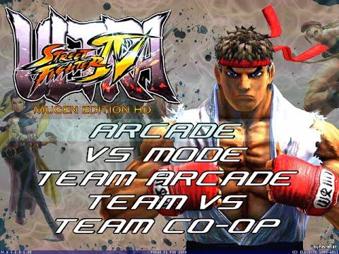 ULTRA Street Fighter IV 3D M.U.G.E.N (Hi-Res) by RistaR87 #Mugen #AndroidMugen - 동영상