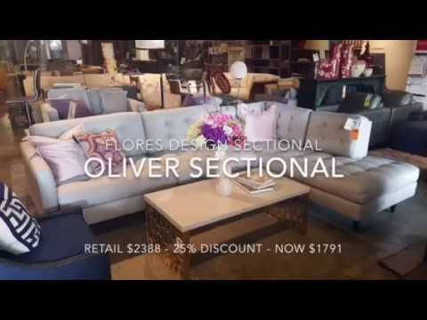 Flores Design Oliver Sectional. Metropolitan Design Furniture