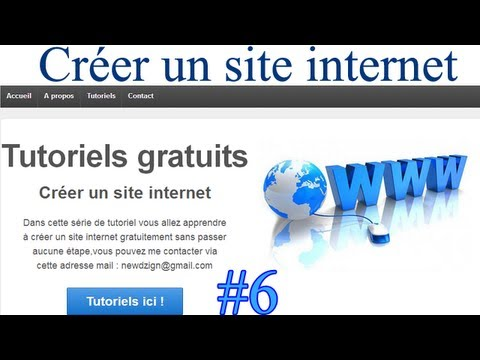 6 tutoriel cr er un site internet professionnel responsive widgets icons by newdzign. Black Bedroom Furniture Sets. Home Design Ideas