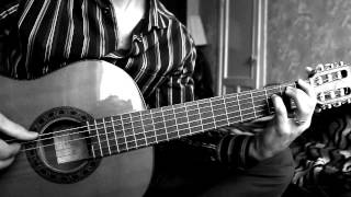 Bi-2 - Varvara (Acoustic Fingerstyle guitar a video lesson  Bar_u_lin)