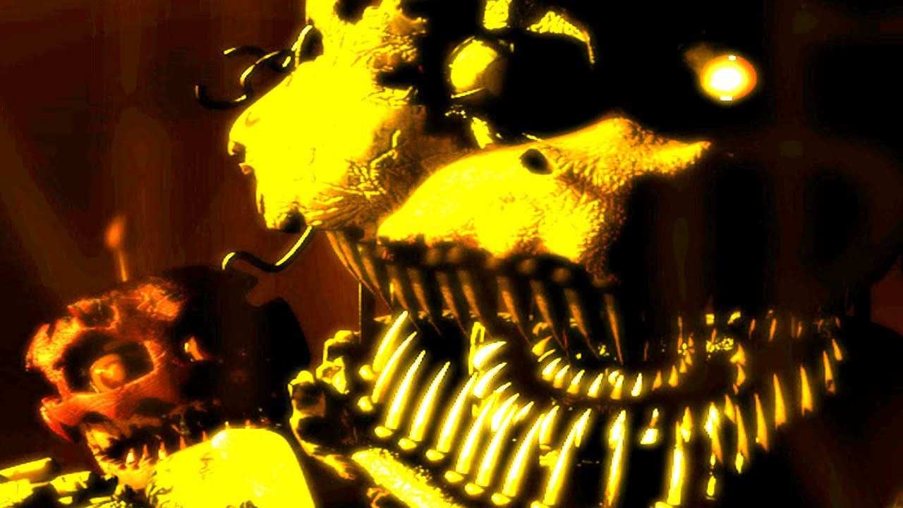 New official teaser fnaf 4 nightmare chica amp cupcake demo youtube