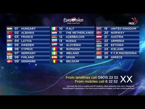 [HD] Eurovision Song Contest 2015 - My Design