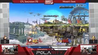 CFL Smackdown 178 WiiU - Raito (Duck Hunt) vs Zaki (DDD) - Winners Semis