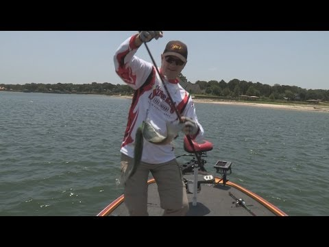 Southwest Outdoors Report #16 Richland Chambers Reservoir, Texas White Bass Fishing - 2013